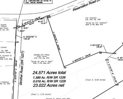 Aberdeen Residential Lots & Land For Sale: 351 Reservation (Sr 1228)