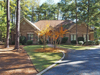 Pinewild Cc Single Family Home Active/Contingent: 21 Abbottsford Drive
