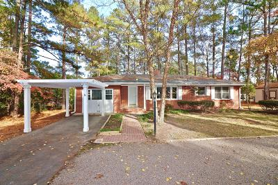 Southern Pines Single Family Home Active/Contingent: 565 E Ohio Avenue