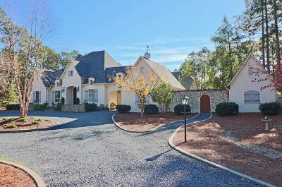 Southern Pines Single Family Home Active/Contingent: 165 Ridgeview Road