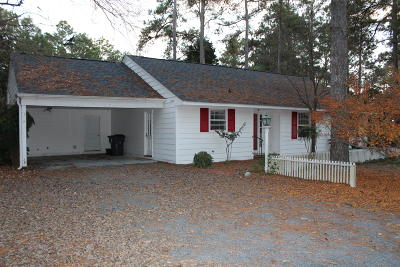Pinehurst, Raleigh, Southern Pines, Vass Rental Active/Contingent: 165 Duffers Lane