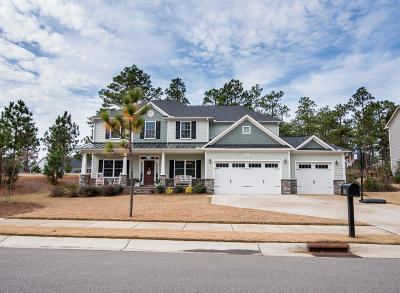 Southern Pines Single Family Home For Sale: 180 Broom Sedge Lane