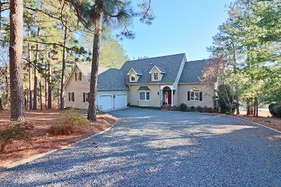 Moore County Single Family Home Active/Contingent: 113 Anchor Point