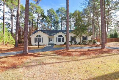 Moore County Single Family Home Active/Contingent: 106 Scaleybark Court