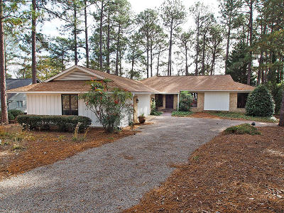 Pinehurst Single Family Home Active/Contingent: 28 Thunderbird Circle