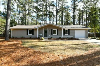 Pinehurst Single Family Home For Sale: 1345 Linden Road