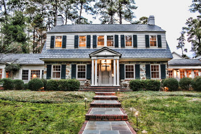 Southern Pines Single Family Home For Sale: 110 N Highland Road