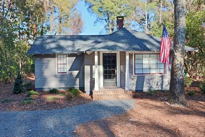 Pinehurst Single Family Home Active/Contingent: 204 Dundee Road