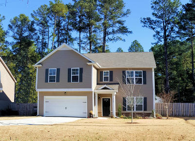 Pinehurst Single Family Home Active/Contingent: 4185 Murdocksville Road