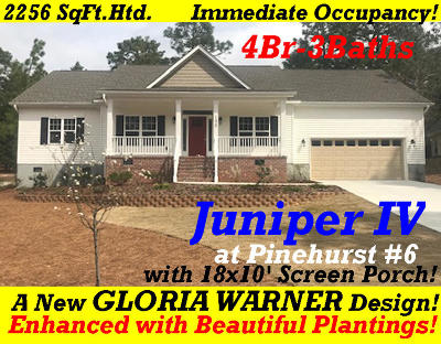 Pinehurst NC Single Family Home For Sale: $319,900