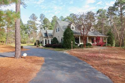Pinehurst, Southern Pines Single Family Home For Sale: 42 Chestertown Drive Drive