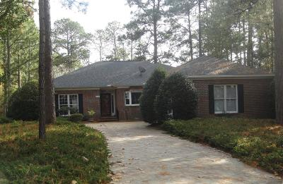 Pinehurst Single Family Home For Sale: 1 Alpine Place