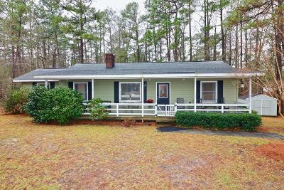 Moore County Single Family Home Active/Contingent: 139 Dundee Drive