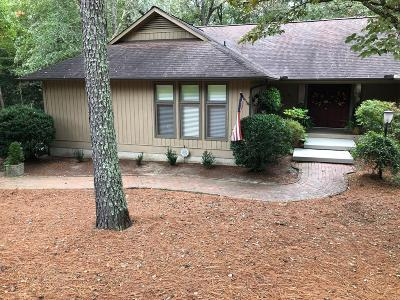 Southern Pines Single Family Home For Sale: 250 Mitchell Road