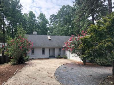 Pinehurst Rental For Rent: 980 Monticello Drive
