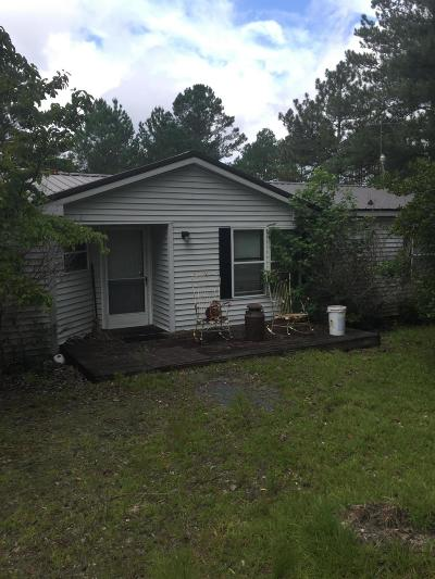 Seven Lakes, West End Single Family Home Active/Contingent: 475 Ellis Lane