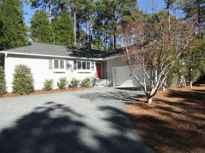 Pinehurst, Raleigh, Southern Pines Single Family Home Active/Contingent: 155 Lake Hills Road
