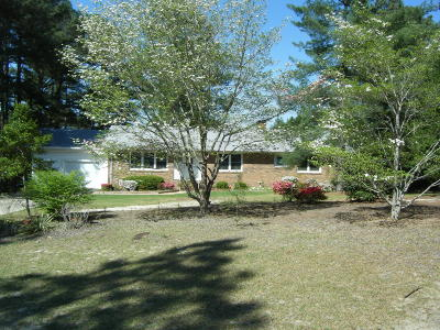 Moore County Single Family Home For Sale: 2 Oakview Place