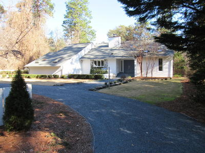 Pinehurst Single Family Home For Sale: 60 Short Rd. Road