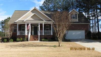Carthage Single Family Home For Sale: 177 Magnolia Hill Drive