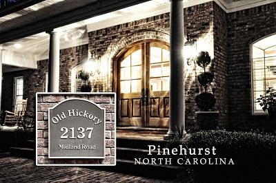 Pinehurst NC Single Family Home For Sale: $1,150,000