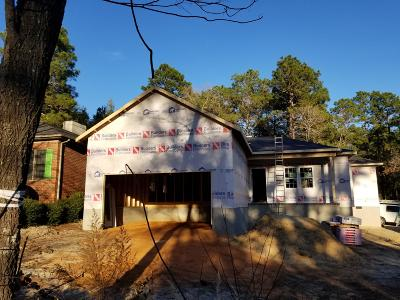 Southern Pines Single Family Home Active/Contingent: 125 Belmont Court Court
