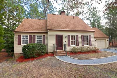 Pinehurst Single Family Home For Sale: 16 Cameron Lane