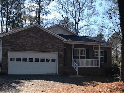 Seven Lakes, West End Single Family Home Active/Contingent: 101 Enchanted Drive