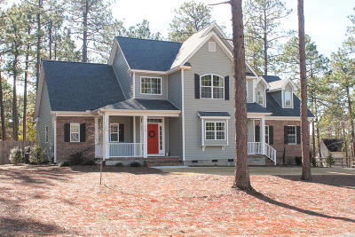 Southern Pines Single Family Home Active/Contingent: 120 Broadmeade Drive