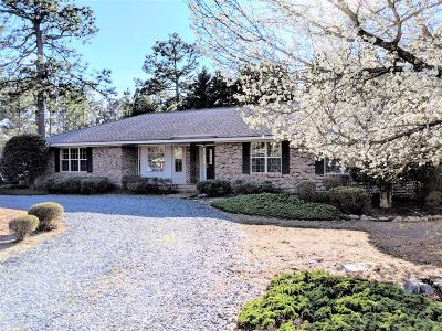 Pinehurst Single Family Home Active/Contingent: 1265 Monticello Drive