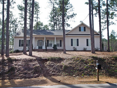 Pinehurst Single Family Home For Sale: 60 Bridle Path Circle