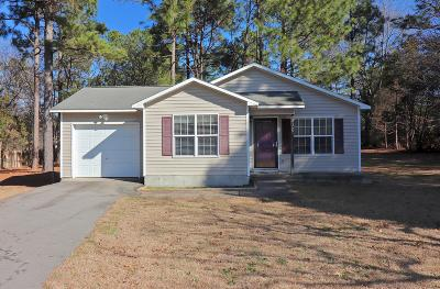 Moore County Single Family Home Active/Contingent: 110 Robin Hood Lane