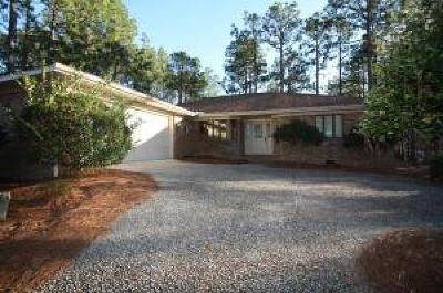Pinehurst Single Family Home Active/Contingent: 10 Aronimink Lane