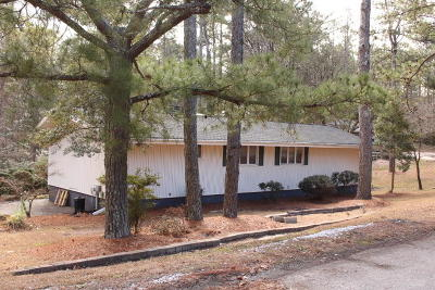 Southern Pines Single Family Home Active/Contingent: 208 Lakeview Drive