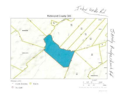 Residential Lots & Land For Sale: Off John Webb & Sandy Ridge Rd