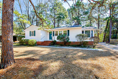 Southern Pines Single Family Home Active/Contingent: 635 N Page Street