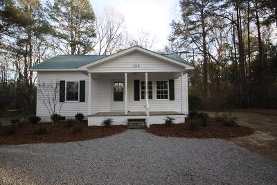 Moore County Single Family Home Active/Contingent: 129 McKeithan Avenue
