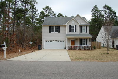 Vass NC Single Family Home For Sale: $194,500