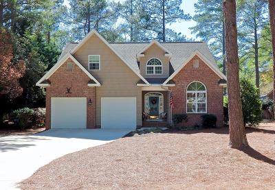 Pinehurst Single Family Home For Sale: 45 Oak Hills Road Road