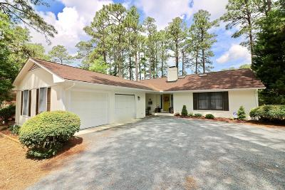 Pinehurst Single Family Home For Sale: 75 Lake Hills Road
