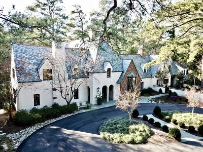 Southern Pines Single Family Home For Sale: 140 N Valley Road