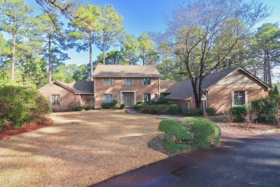 Pinehurst Single Family Home For Sale: 140 Bel Air Drive