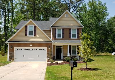 Vass Single Family Home For Sale: 15 Bynum Ct Court