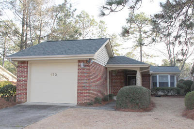 Pinehurst Single Family Home Active/Contingent: 170 Pinehurst Trace Drive