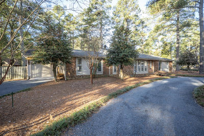 Pinehurst Single Family Home For Sale: 5 Oak Hills Road