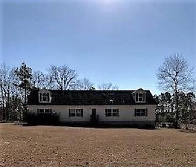 Single Family Home For Sale: 21708 Old Maxton Road
