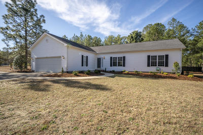 Southern Pines Single Family Home Active/Contingent: 140 Tannen Drive