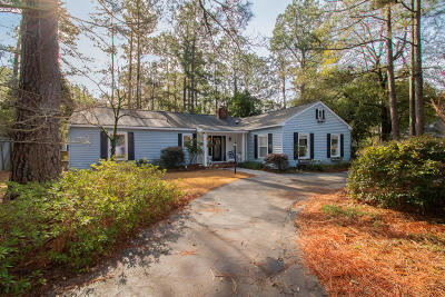 Southern Pines Single Family Home Active/Contingent: 185 Duffers Lane
