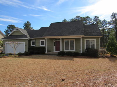 Pinebluff Single Family Home Active/Contingent: 158 S Erfie Drive
