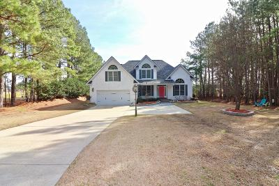 Vass Single Family Home For Sale: 831 Sea Gull Drive